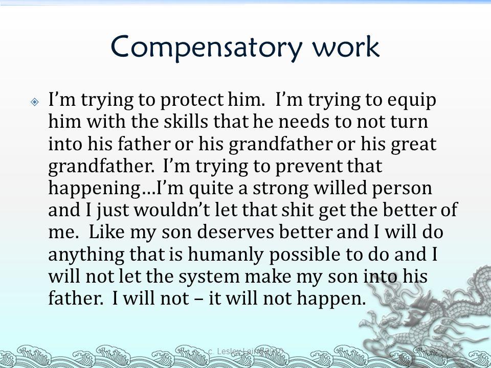 Compensatory work