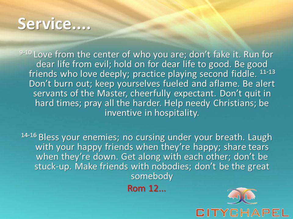 Service....