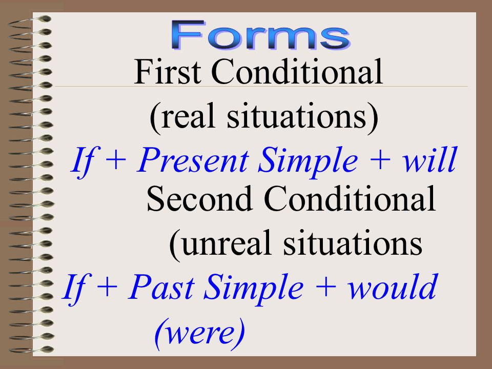 If + Present Simple + will