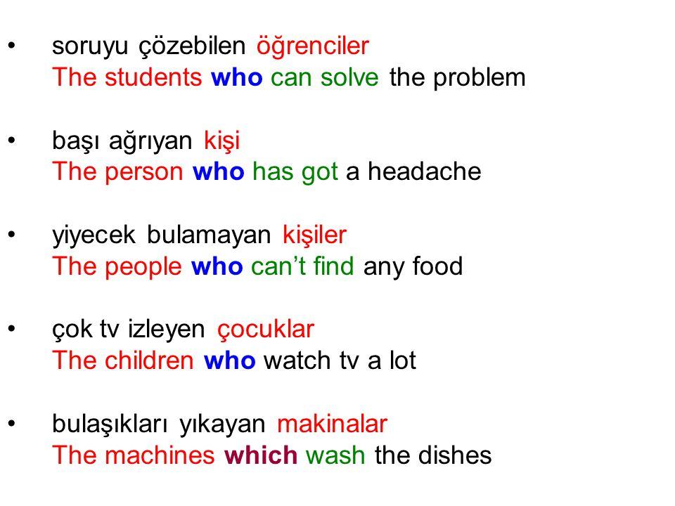 soruyu çözebilen öğrenciler