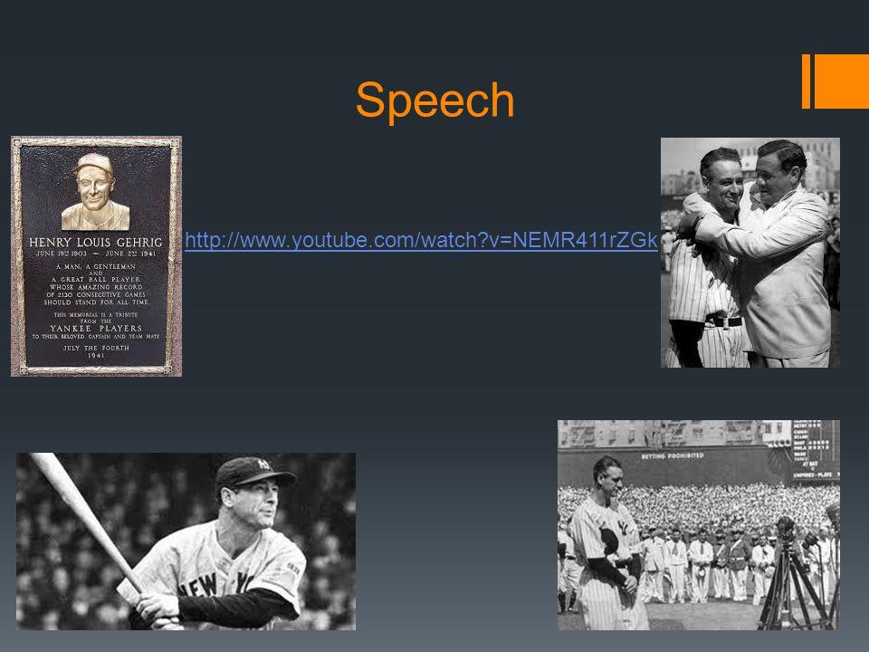 Speech http://www.youtube.com/watch v=NEMR411rZGk