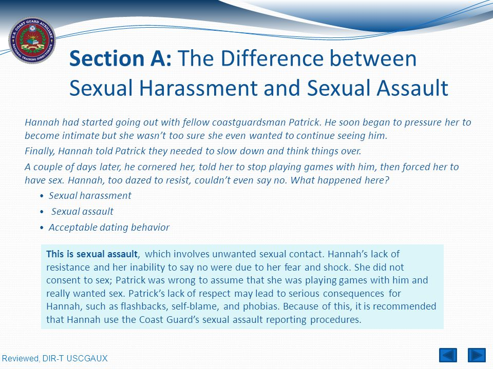 Difference between harassment and sexual harassment