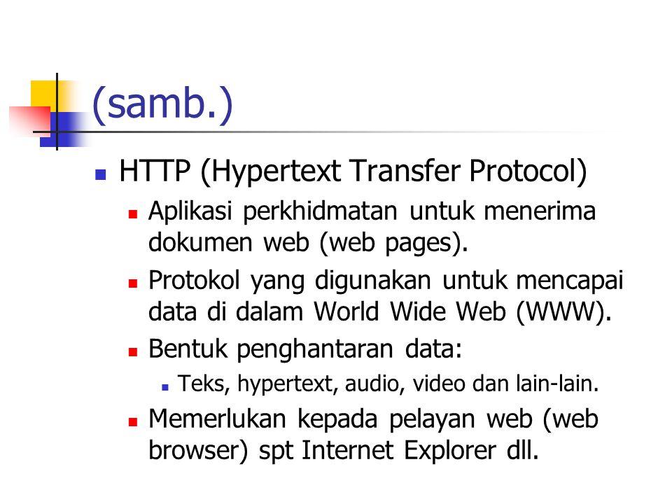(samb.) HTTP (Hypertext Transfer Protocol)