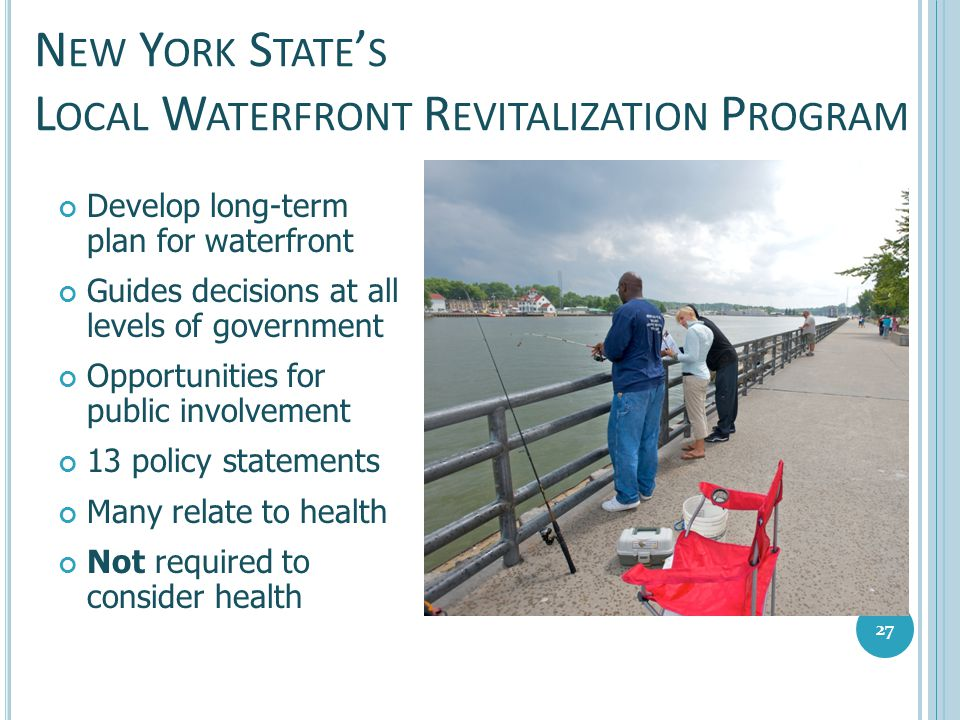 New York State's Local Waterfront Revitalization Program