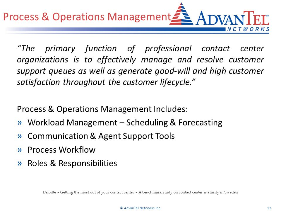 Process & Operations Management
