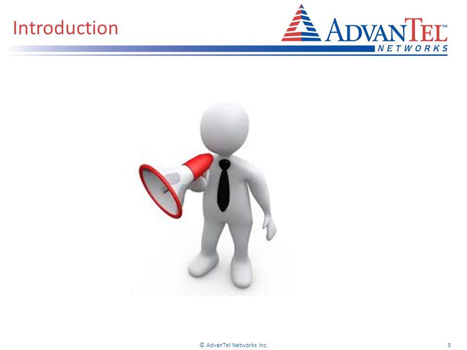 © AdvanTel Networks Inc.