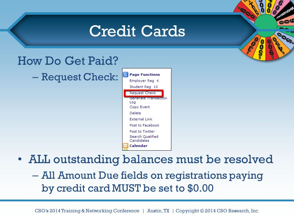 Credit Cards How Do Get Paid