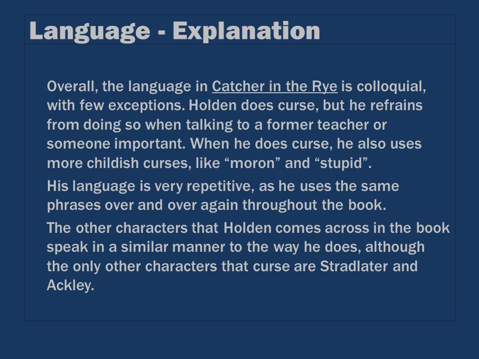 Language - Explanation