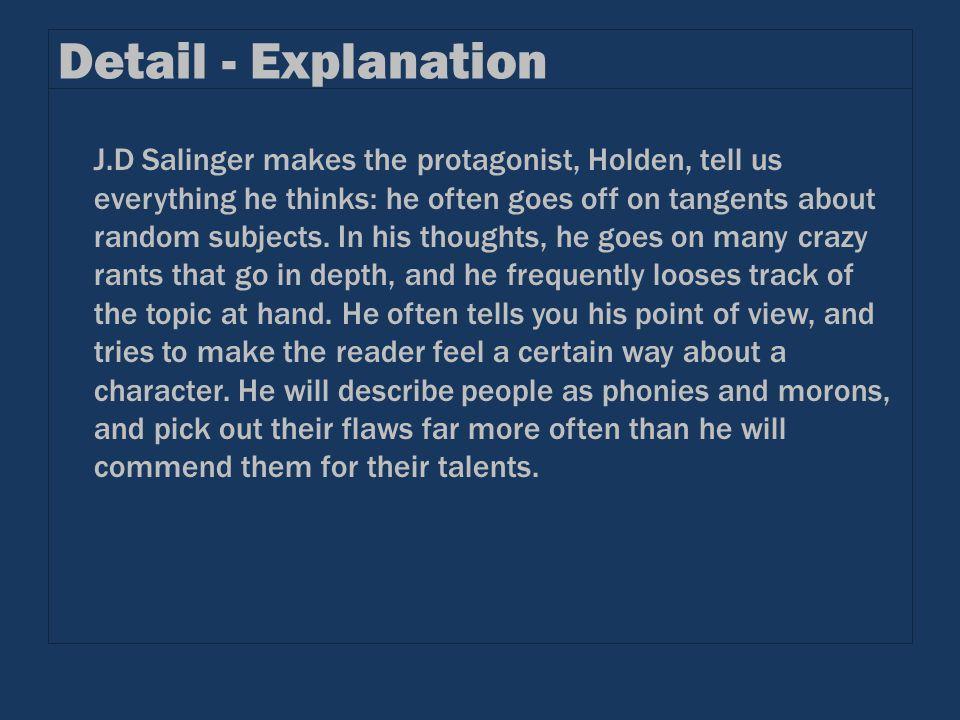 Detail - Explanation