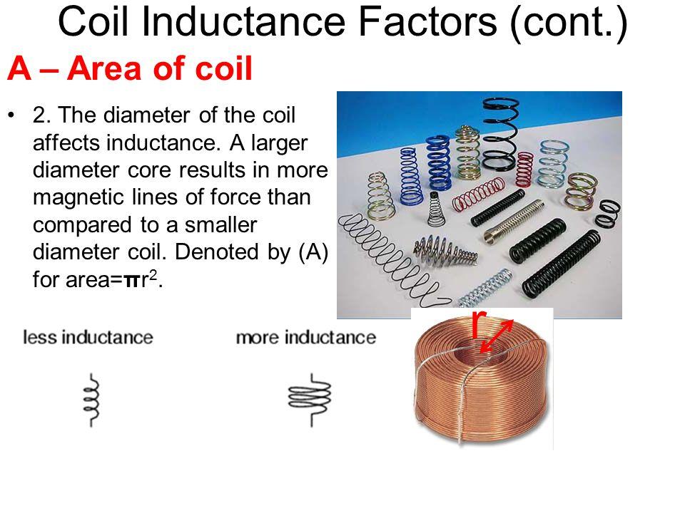 Coil Inductance Factors (cont.)
