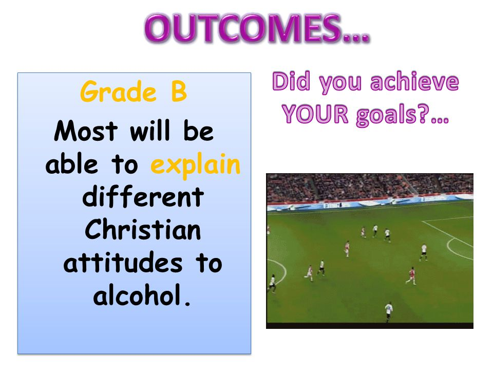 Most will be able to explain different Christian attitudes to alcohol.