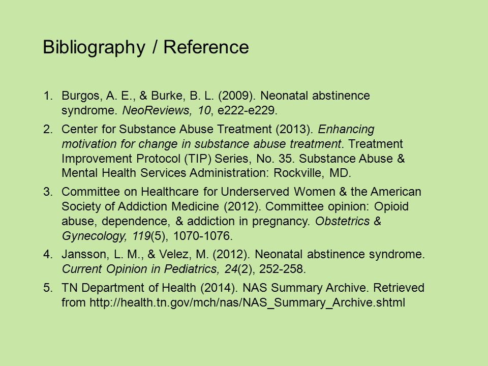 Bibliography / Reference