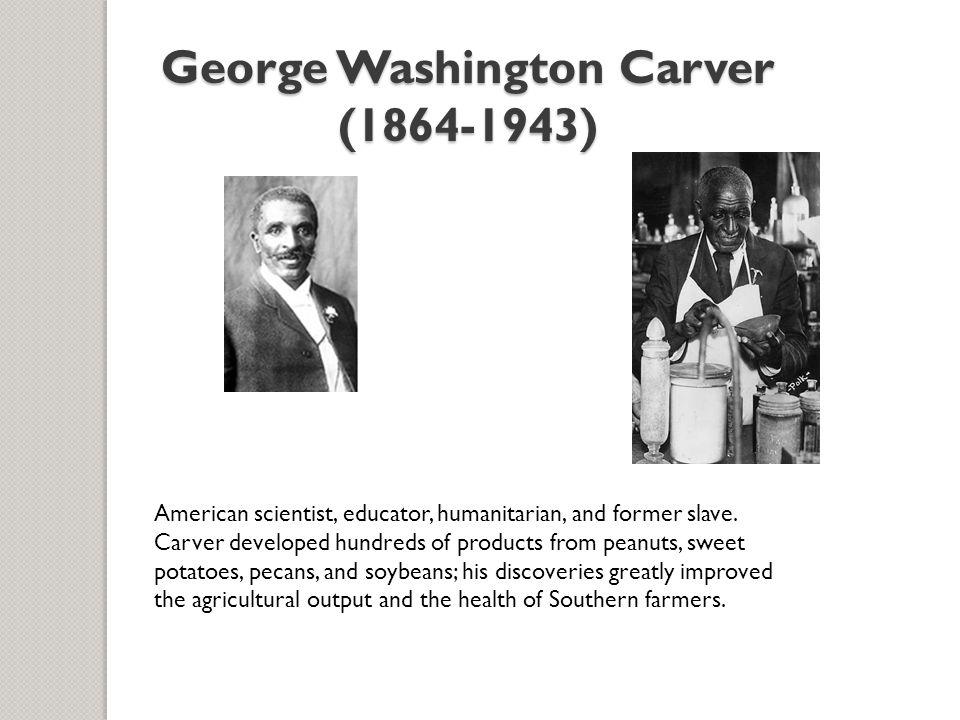 George Washington Carver (1864-1943)