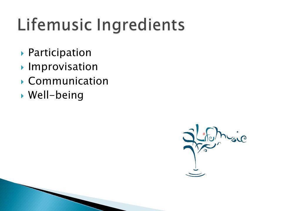 Lifemusic Ingredients