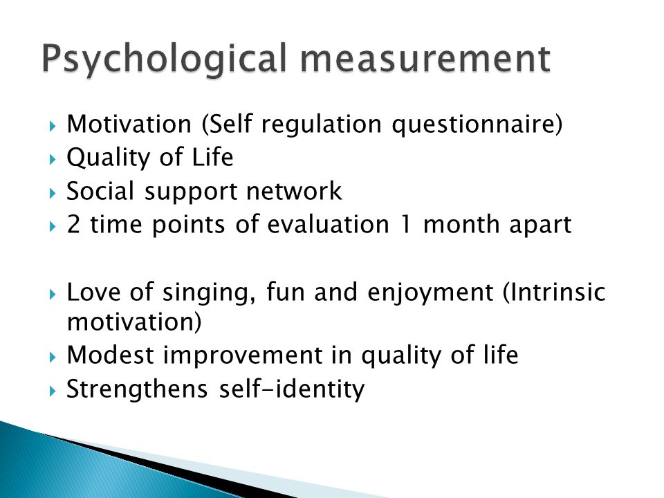 Psychological measurement