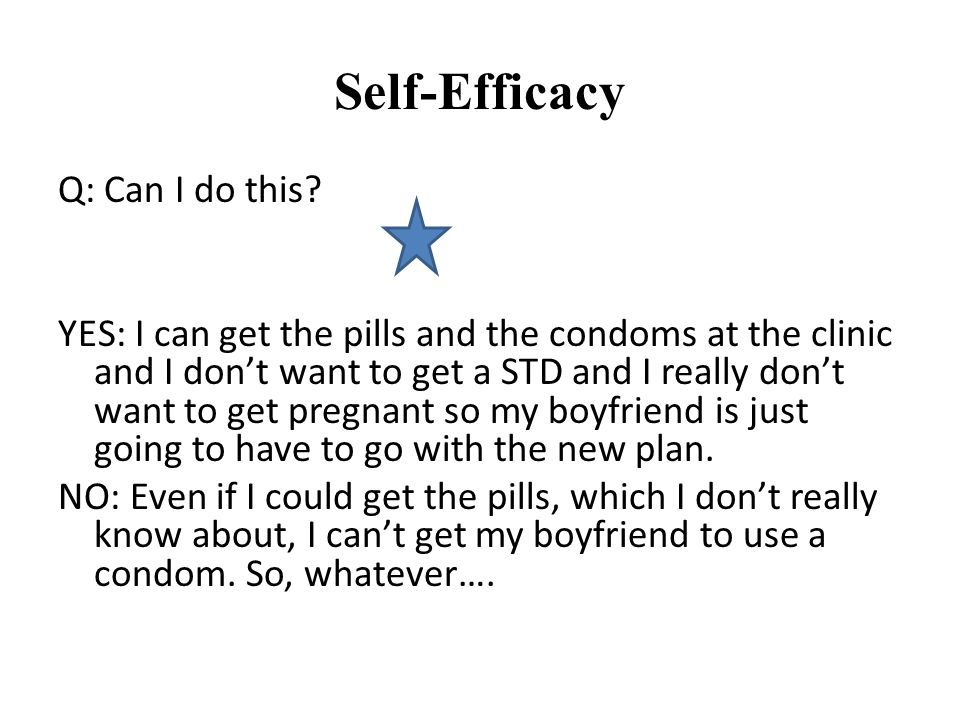 Self-Efficacy Q: Can I do this