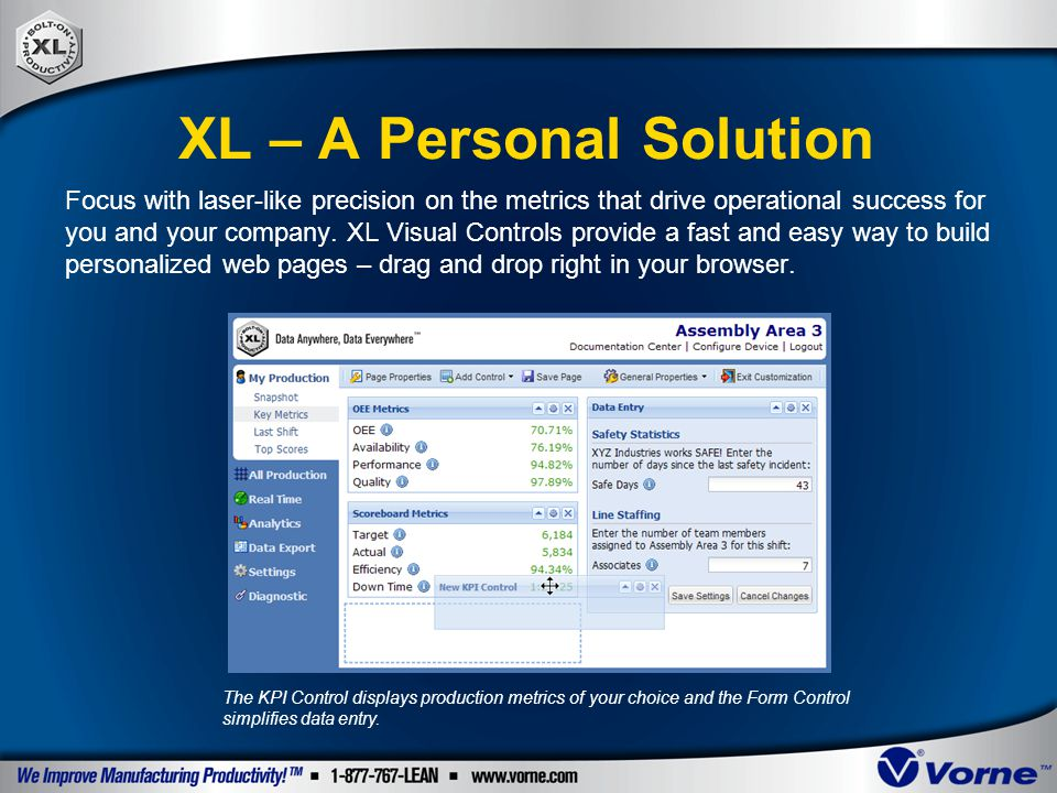 XL – A Personal Solution