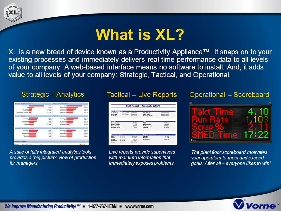 What is XL