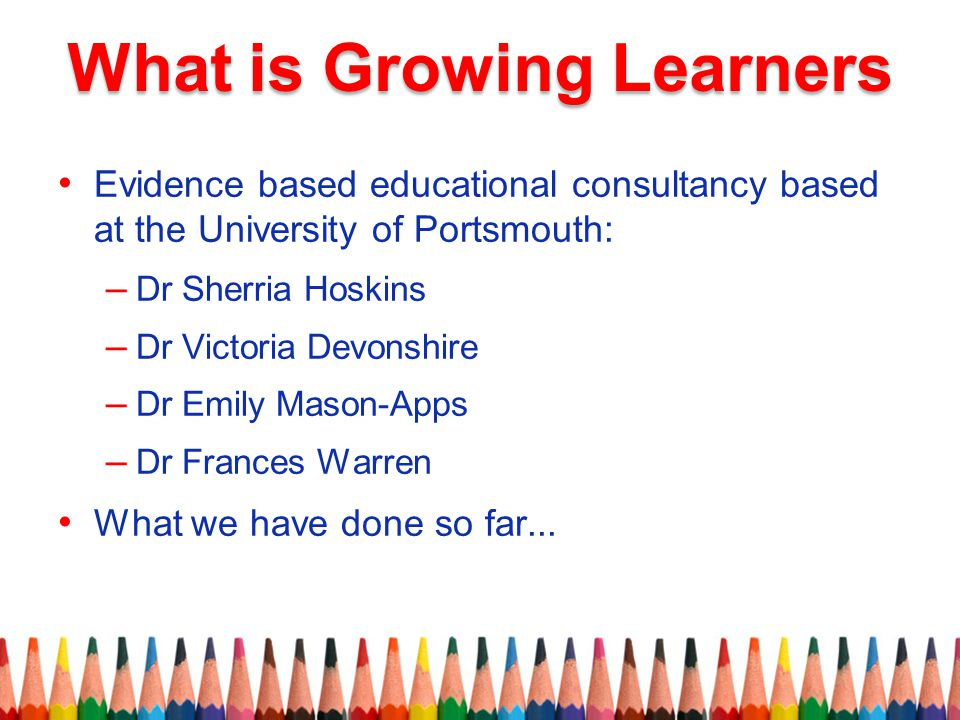 What is Growing Learners
