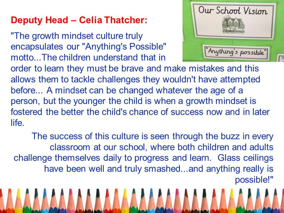 Deputy Head – Celia Thatcher: