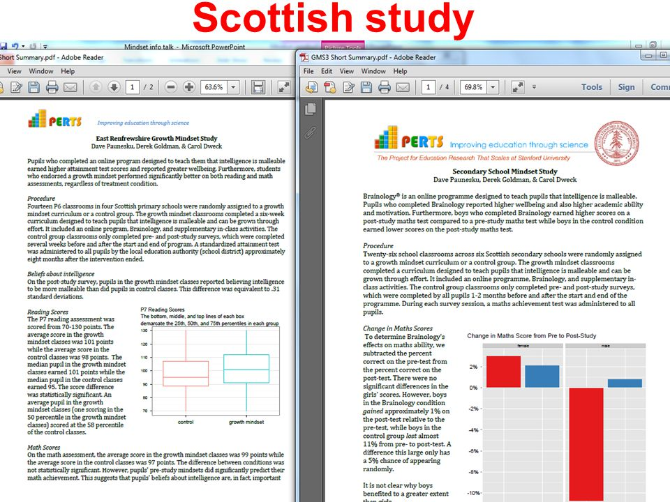 Scottish study