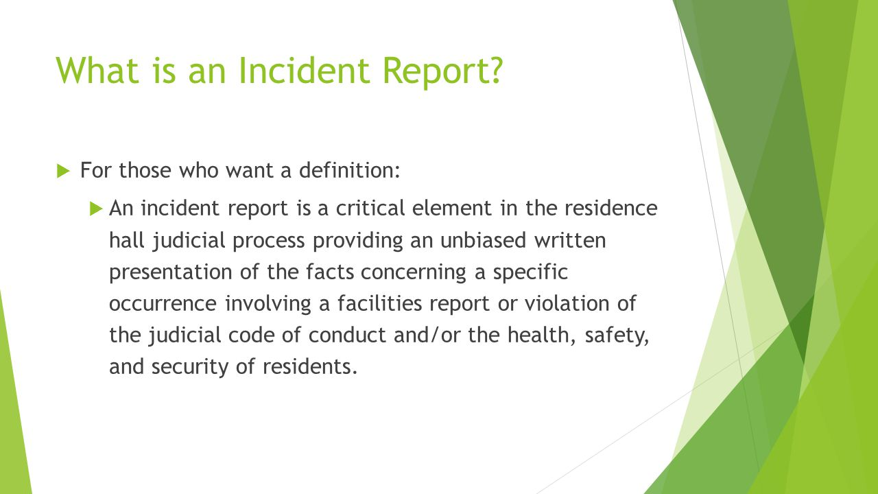 maxient and incident report training ppt download