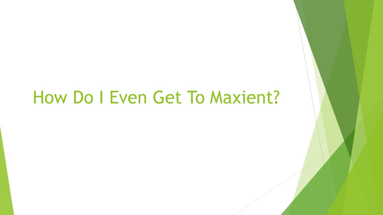 How Do I Even Get To Maxient
