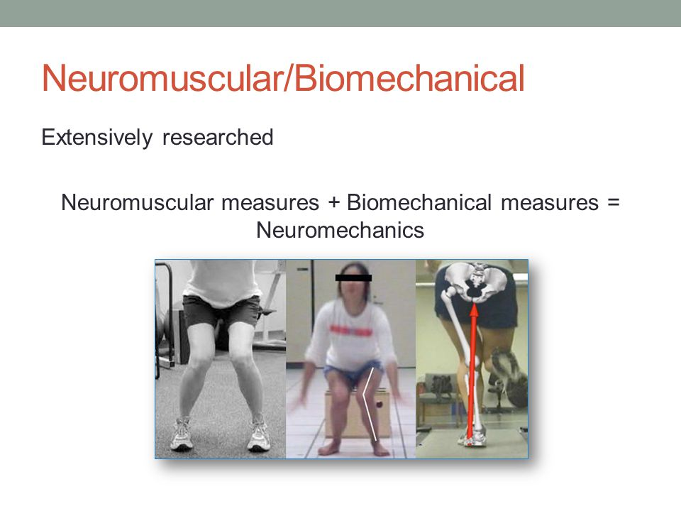 Neuromuscular/Biomechanical