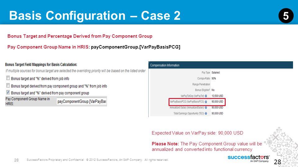 Basis Configuration – Case 2