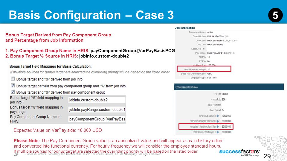 Basis Configuration – Case 3