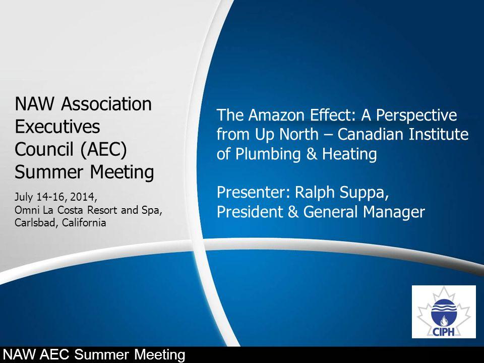 NAW Association Executives Council (AEC) Summer Meeting