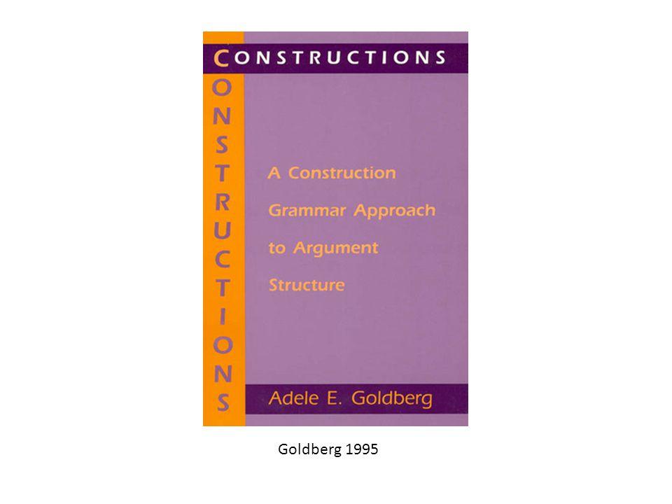 Goldberg 1995