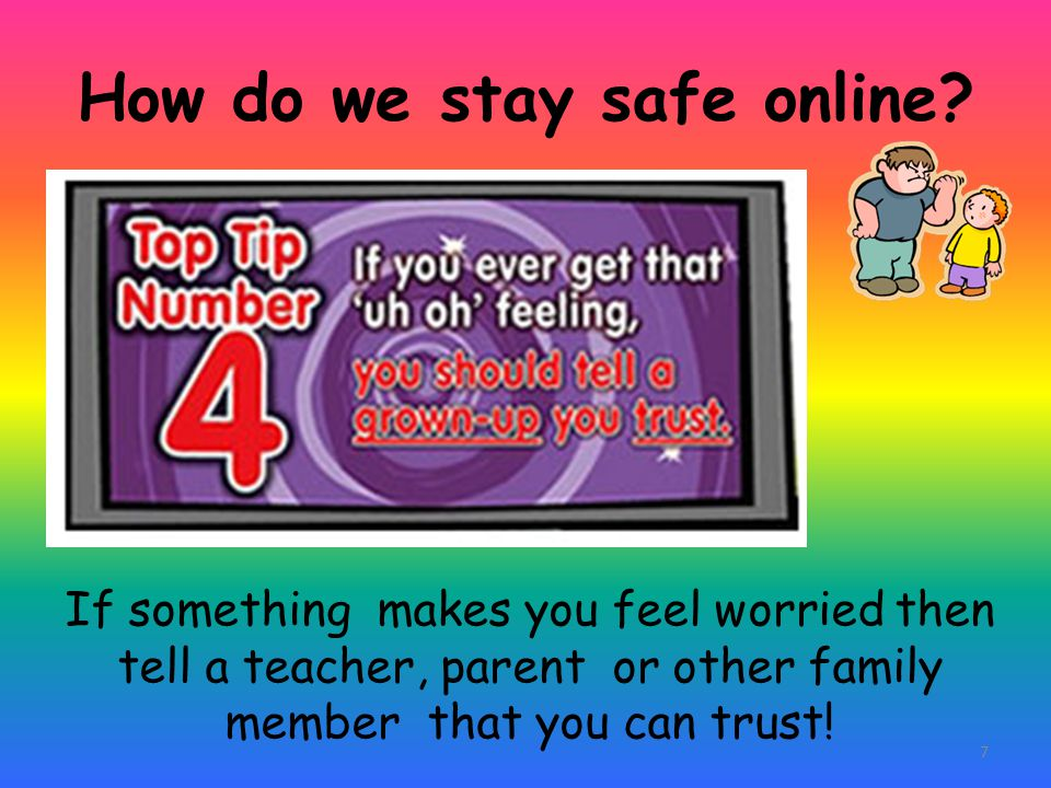 How do we stay safe online