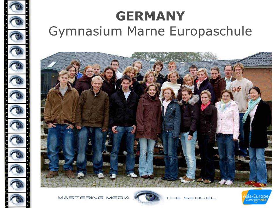 GERMANY Gymnasium Marne Europaschule