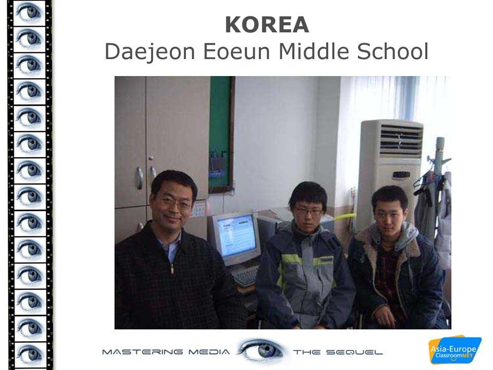 KOREA Daejeon Eoeun Middle School