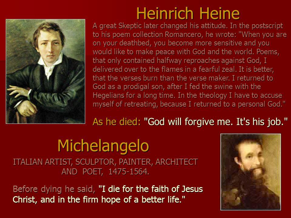 Heinrich Heine Michelangelo