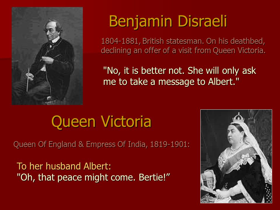 Queen Of England & Empress Of India, 1819-1901: