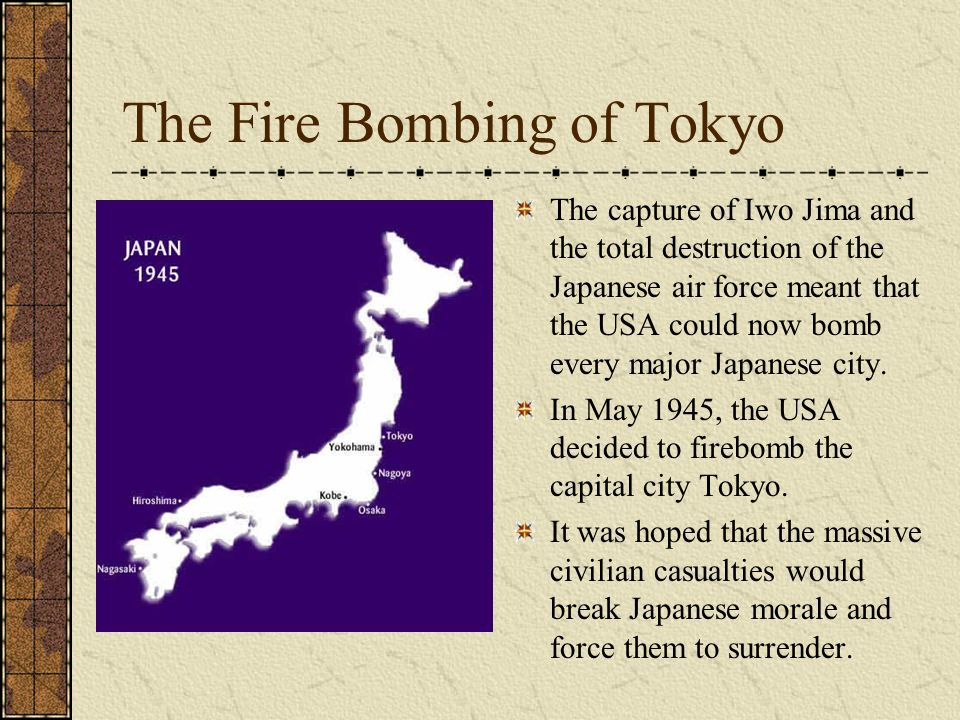The Fire Bombing of Tokyo