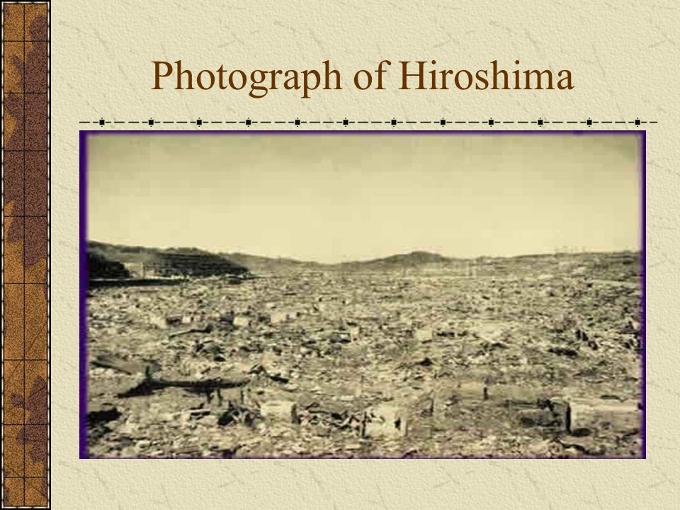 Photograph of Hiroshima