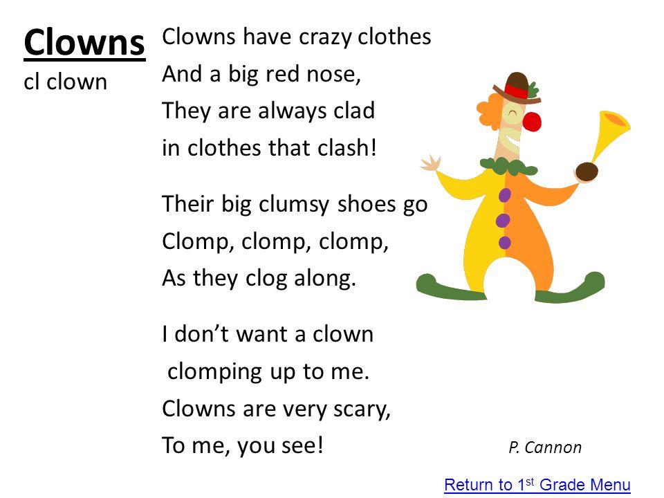 Clowns cl clown