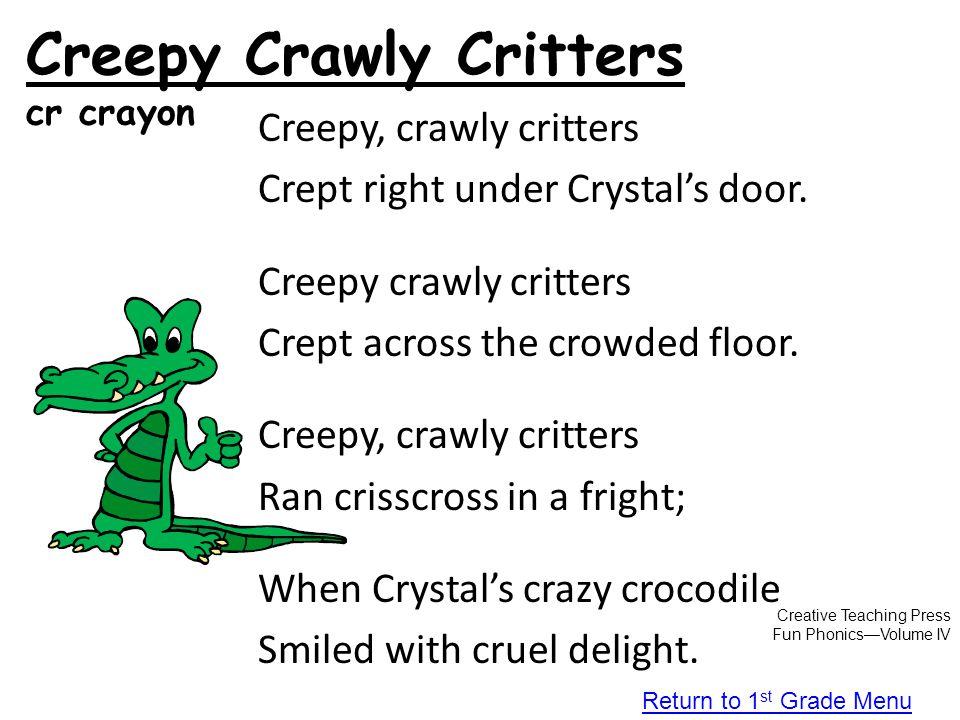 Creepy Crawly Critters cr crayon