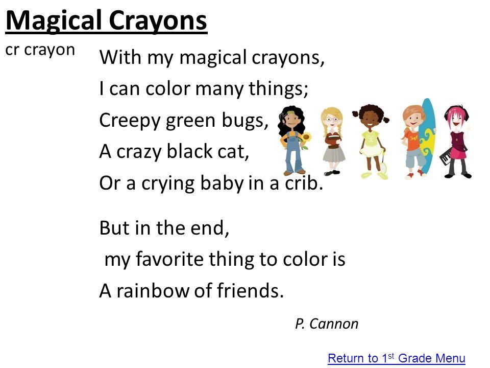 Magical Crayons cr crayon