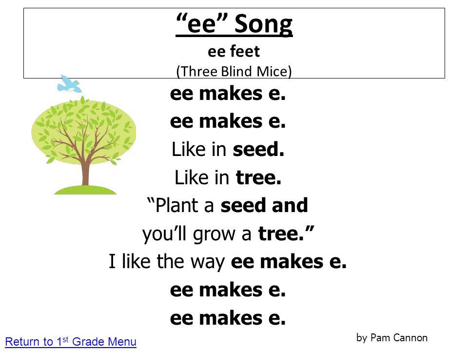 ee Song ee feet (Three Blind Mice)