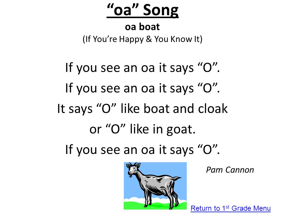 oa Song oa boat (If You're Happy & You Know It)