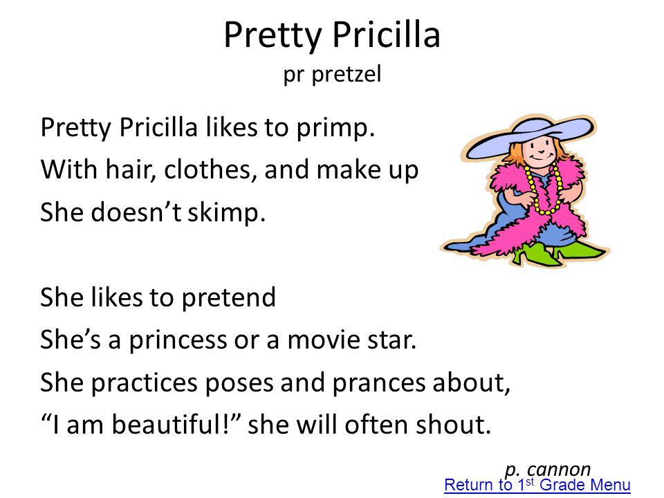 Pretty Pricilla pr pretzel