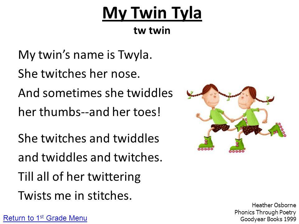 My Twin Tyla tw twin