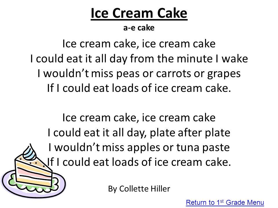 Ice Cream Cake a-e cake Ice cream cake, ice cream cake