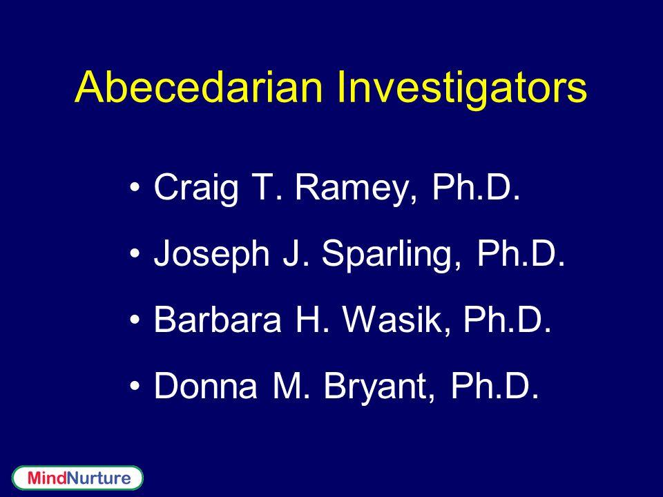 Abecedarian Investigators