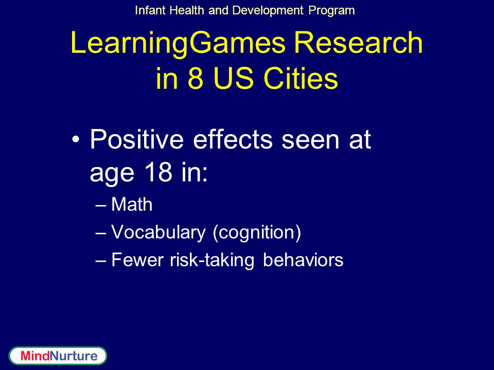 LearningGames Research in 8 US Cities