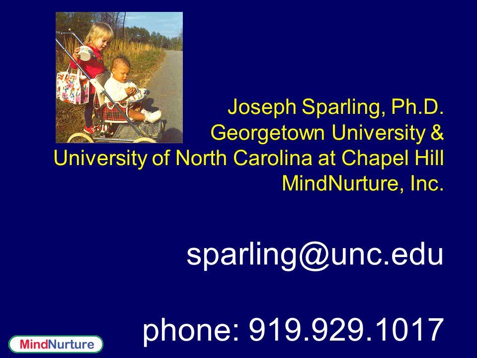 Joseph Sparling, Ph.D.
